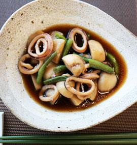 イカと里芋のほっこり煮