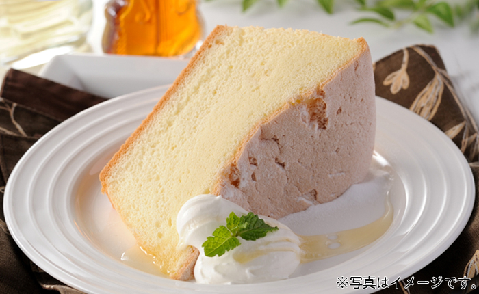 フリーカットケーキ アップル&ピーチ